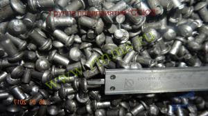 заклепки стальные 6 мм