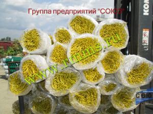 сетка рабица пвх желтая цена