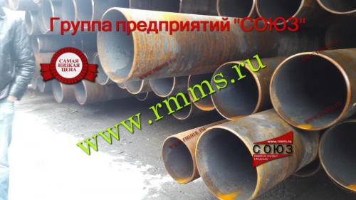 трубы стальные бесшовные горячедеформированные большие