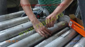 производство фланцевых трубчатых опор